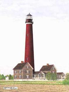 Shinnecock Light, N.Y. - 1921 (Hampton Bays)
