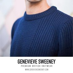 Menswear Knitwear, Stitch Interest by Genevieve Sweeney