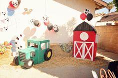 "Photo 1 of 9: Barnyard, Farm / Birthday ""Lucas' First Birthday"" | Catch My Party"