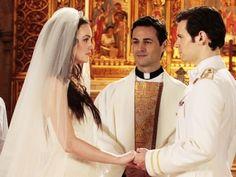 Most memorable TV weddings via allwomenstalk.com