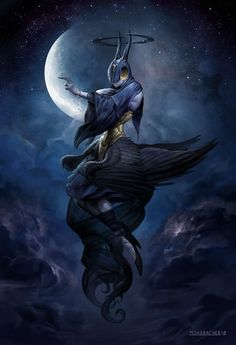 Leliel - Angel of Night by Peter Mohrbacher on Behance