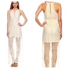 Vintage ARK & CO Lace Cocktail Maxi NWT Prom NWT! Simply breathtaking! Retail $90.  Ark & Co Dresses Maxi