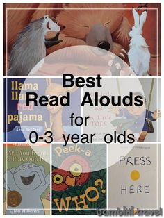 Best Read Alouds for 0-3 Year Olds | Children's Books for infants and toddlers | Bambini Travel