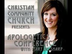 Mary Jo Sharp is one of the most amazing female apologists in the world. She's absolutely brilliant. If you have the opportunity to hear her speak, you are in for a real treat!