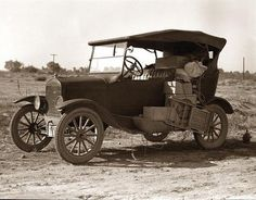 I chose this image to represent the beginning of our automotive advances and our growing need as a consumer population to constantly improve our way of life. This image is of a Ford Model T which was one of the first and most selling vehicles of its time, jump starting a part of our everyday lives.