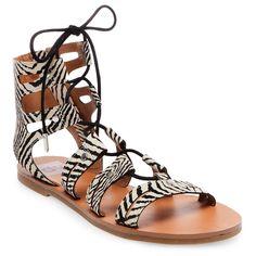 Women's dv Gracelyn Lace Up Gladiator Sandals - 5.5, Ivory