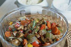 Grillgemüse - Salat