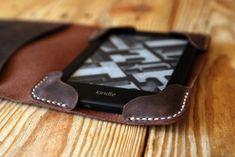 Small Moleskine leather cover. Dark brown by JustWanderlustShop
