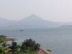 The view from the property at Pavna dam!!