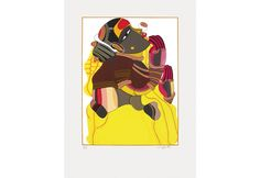 Serigraph by Thota Vaikuntam on Paper in 48 Colours. Edition of 125 Famous Indian Artists, Female Characters, Fictional Characters, Batman, Colours, Paintings, Superhero, Paper, Artwork