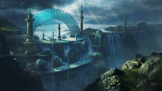 Image from fantasy and syfy..with some cats..NSFW — adedrizils-shrine:   City Industrial Final by...