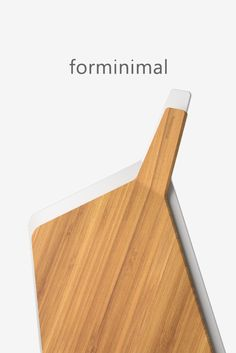 A modern sculptural chopping board set that combines ergonomic wood and plastic boards in a striking, easy to store design solution. Box Water, Water Bottle, Plastic Board, Chopping Board Set, Store Design, Contemporary, Modern, Kitchenware, Lunch Box
