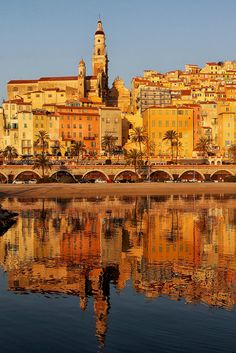 France Travel Inspiration - All things Europe - Menton France by Jean Jacques Cordier Nice, South Of France, Destinations, French Riviera, Travel Goals, France Travel, European Travel, Belle Photo, Arquitetura