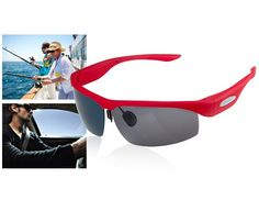 MV301 Bluetooth Polarized Sunglasses (Red)