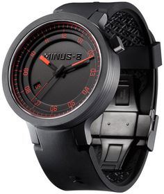 Minus-8 Layer Automatic -Black/Red