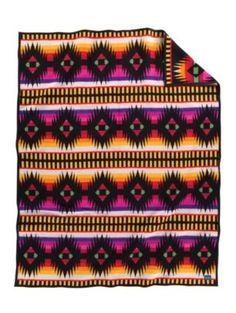 Love this OG Native American blanket from Pendleton