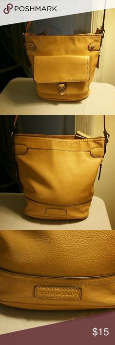 Women's Cross Body Purse Light Tan Cross Body Women's Purse. In new condition from non-smokers home. Only carried a couple of times. St. John's Bay Bags Crossbody Bags