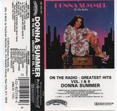 Donna Summer On The Radio Greatest Hits Vol. 1 & 2, Cassette, 1979, Love to Love You Baby, Try Me I Know We Can Make It I Feel Love Our Love by VintageNEJunk on Etsy
