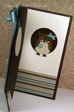 Stampin' Up! - Owl Builder Punch (Inside)