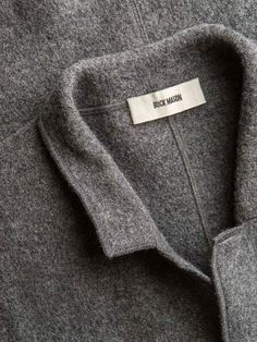 Black Felted Chore Coat – Buck Mason
