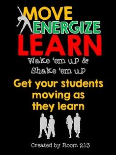 Move/Energize/Learn: reaching kinesthetic, visual and auditory learning styles Auditory Learning, Cooperative Learning, Too Cool For School, Middle School, High School, Move To Learn, Fraction Word Problems, Read 180, Tutoring Business