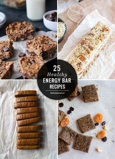 Snack On With 25 Healthy Energy Bar Recipes | Hello Glow | Bloglovin'
