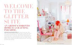 4 Common Colour Myths Dispelled - Maria Killam - The True Colour Expert- Hot Pink + White = woman's cave ; Soft Colors, True Colors, Tiffany Pratt, Woman Cave, Pink White, Hot Pink, Living Spaces, Work Spaces, Living Rooms