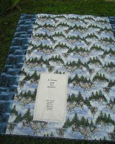 Back of Prayer Quilt for Roberto