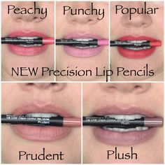 Brand new Younique Precision Lip Pencils! Released fall 2016. www.stoptrafficlashes.com What's your favorite? #falllaunch #stoptrafficlashes #lipliner
