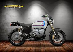 RocketGarage Cafe Racer: BMW R 100 BOXER BOY