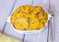 Cheesy Scalloped Potatoes (vegan)
