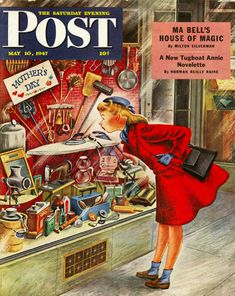 Happy Mother's day from the Post magazine, 1947