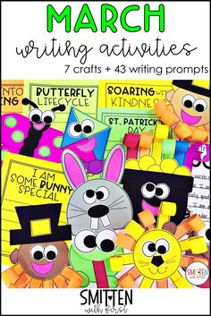 With March coming up tomorrow [February flew by], I wanted to share some March writing activities with you all. These activities will make planning March writing a breeze. With 7 different craftivities and over 40 writing prompts, this resource is a go-to for March writing. Prompts cover how to writing, opinion, creative writing, and persuasive writing could easily …