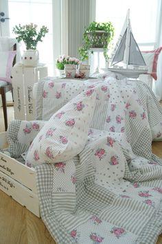 Wilhelmiina's Home: KK blogista ja muutama tilkkupeitto kuvin