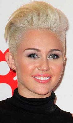 Image result for short side long top haircut women