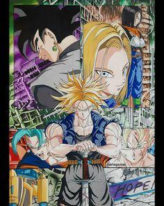 Trunks del futuro ♥️💪 by: artegativo Dragon Ball Z, Manga Anime, Anime Art, Z Arts, Big Eyes, Drawing Sketches, Fan Art, Animation, Wallpaper