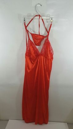 Red nightgown | Clothing, Shoes & Accessories, Women's Clothing, Intimates & Sleep | eBay!