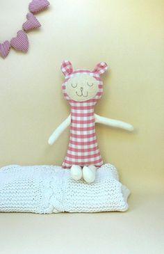 ROSIE Soft toy plush toystuffed animal bunny toy by MiniwerkaToys