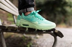 sports shoes 5798f a3541 cool Sneakers - Nike Air Max 1   Nike Air Max 1 Ultra Moire  Green