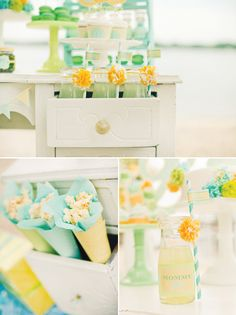 {Fresh Sea Breeze} Gender Neutral Baby Shower // Hostess with the Mostess