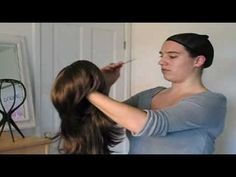 Wonderland Wigs - How to put on a wig.