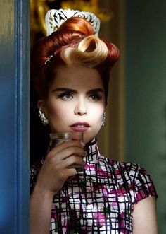 Paloma faith's fantastic vintage style. She is so talented and fabulous and utterly adorbs