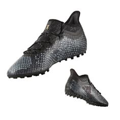 adidas X 16.1 Cage Turf Soccer Shoes (Gray/Black): http://www.soccerevolution.com/store/products/ADI_14099_F.php