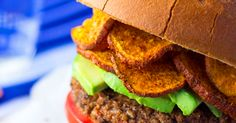 A delicious Vegan Bean Burger recipe plus a recipe for Baked BBQ sweet potato chips! I love this recipe combination.