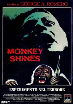 """Monkey Shines"" (1988)  #MonkeyShines #PulpVideo"