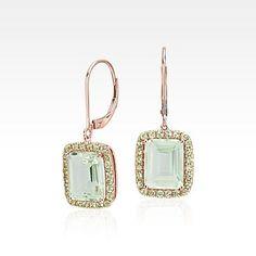 Gemstone Earrings - Studs, Hoops and Drop Earrings   Blue Nile