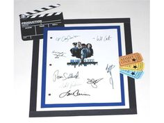 Blue Bloods Pilot Episode TV Script Autographed: Tom Selleck, Donnie Wahlberg, Bridget Moynahan, Will Estes, Len Cariou, Amy Carlson