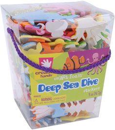 foam stickers 5 ounces-deep sea dive