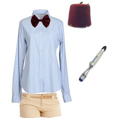 """Doctor Who halloween"" by prsimmns on Polyvore my halloween costume"