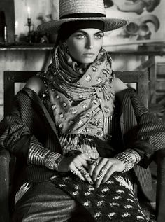 Karlina Caune for Vogue Germany by Giampaolo Sgura